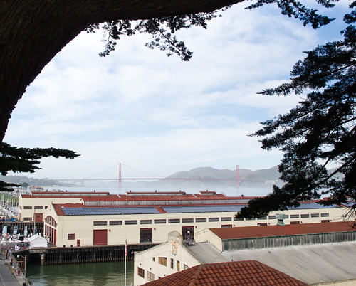 Bridge and Fort Mason