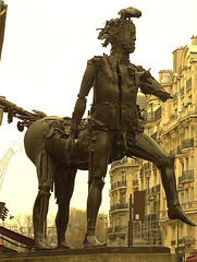 Centaur Paris (scot_fin) Tags: travel sculpture paris statue walking arrondissement sculptor steampunk csar
