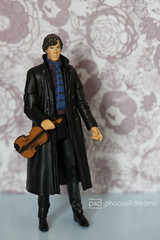 you get quite lonely being highfunctional (photos4dreams) Tags: toy scene crime bbc series serie spielzeug sherlock drwatson benedictcumberbatch photos4dreams photos4dreamz p4d 5inchsherlockholmes