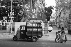 Chennai (MaxDeVa) Tags: leica blackandwhite bw india 35mm f2 monochrom chennai asph yellowfilter summicronm