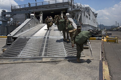 160330-M-KZ568-063 (U.S. Pacific Fleet) Tags: philippines sailors gear vessel marines subicbay ph usnavy marinecorps staging afp unload balikatan asiapacific shouldertoshoulder bk16 usphl pacifcmarines pacificrebounce