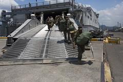 160330-M-KZ568-063 (U.S. Pacific Fleet) Tags: philippines sailors gear vessel marines subicbay ph usnavy marinecorps staging afp unload balikatan asiapacific shouldertoshoulder bk16 usphl pacifcmarines pacificrebounce