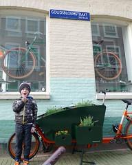 WorkCycles-Bloemenbakfiets-4 (@WorkCycles) Tags: flowers orange plants dutch amsterdam bike groen planter grachten bloemen lijnbaansgracht cargobike bakfiets bakfietsen goudsbloemstraat workcycles kr8