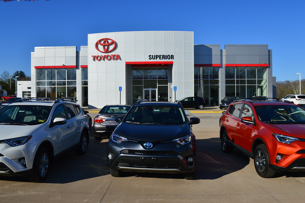 Superior Toyota East 7th Street Parkersburg, WV (Dinotography24) Tags: Superior  Wv Westvirginia