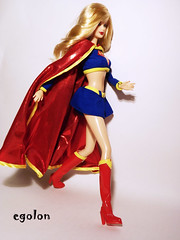 Barbie Collector Supergirl Doll (egolon) Tags: dc doll supergirl collector superheroine brabie silverlabel