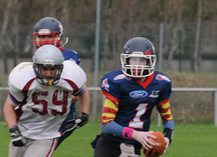 20160403_Avalanches Annecy Vs Falcons Bron (27 sur 51) (calace74) Tags: france annecy sport foot division falcons bron amricain avalanches rgional