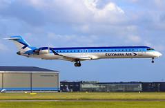 EHAM (Josep Oll) Tags: amsterdam plane airplane photography aircraft landing fotos nubes holanda schiphol avin ams spotting approaching estonian duch spotter runway27 eham2015