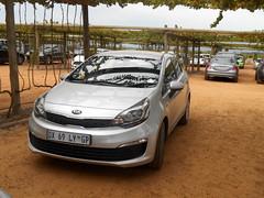 Trusty Rental Car (RobW_) Tags: car rio march farm saturday rental western cape kia paarl 2016 simondium babylonstoren 05mar2016