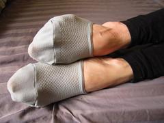 No Show Socks (sockstargirl) Tags: feet socks footfetish sexyfeet femalefeet sexysocks sockfetish