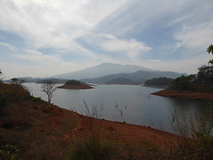 A glimpse of the reservoir (Jackie & Dennis) Tags: india wayanad rwh kalpetta bansura ramblersworldwideholidays kuttiyamvayall spicesplantationshillstations banasuraislandretreat