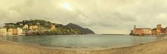 _04_5873-Pano (Simone Villani 7D) Tags: light sea sky italy panorama beach colors beautiful canon landscape eos italia mare liguria 7d sestrilevante 24105l skygrey