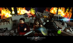 Super Friends! (willgalb) Tags: woman comics movie wonder dawn justice dc lego ben superman henry gal batman minifigs superheroes zack snyder affleck cavill gadot