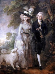 IMG_1557A Thomas Gainsborough. 1727-1788; Londres.  Mr and Mrs William Hallett. (The Morning Walk)  1785. Londres National Gallery. (jean louis mazieres) Tags: greatbritain london museum painting unitedkingdom muse londres museo peintures gainsborough peintres grandebretagne nationalgallerythomas