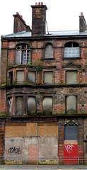 broken building (art crimes) Tags: streets glasgow urbandecay gorbals dystopia brokenbuildings pollockshaw