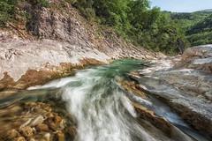 Bosso creek (Leonardo Del Prete) Tags: water creek river landscape flow stream fiume acqua marche paesaggio bosso torrente flusso