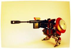 HR-53j Demi-Faulter Sniper Configuration (Jay Biquadrate) Tags: lego mecha mech moc microscale mfz mf0 mobileframezero