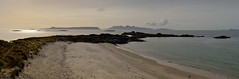 Small Isles Dusk (rsthomas9) Tags: sea panorama beach islands scotland highlands rum rhum mallaig morar eigg