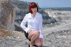 DCS_9876 (dmitriy1968) Tags: portrait cliff nature girl beautiful erotic outdoor wife quarry    sexsual