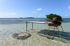 Guadeloupe, France - BBQ time ! (GlobeTrotter 2000) Tags: sea france tourism beach island sand paradise bbq visit tropical guadeloupe gwada biche ilet caret