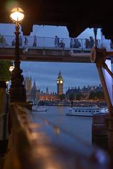 NEX-5N_15-07-17_DSC00316 (alexgascoigne) Tags: city blue london tower clock thames river evening twilight time dusk capital housesofparliament bigben landmark tourists southbank mp primeminister brendanandjonswedding