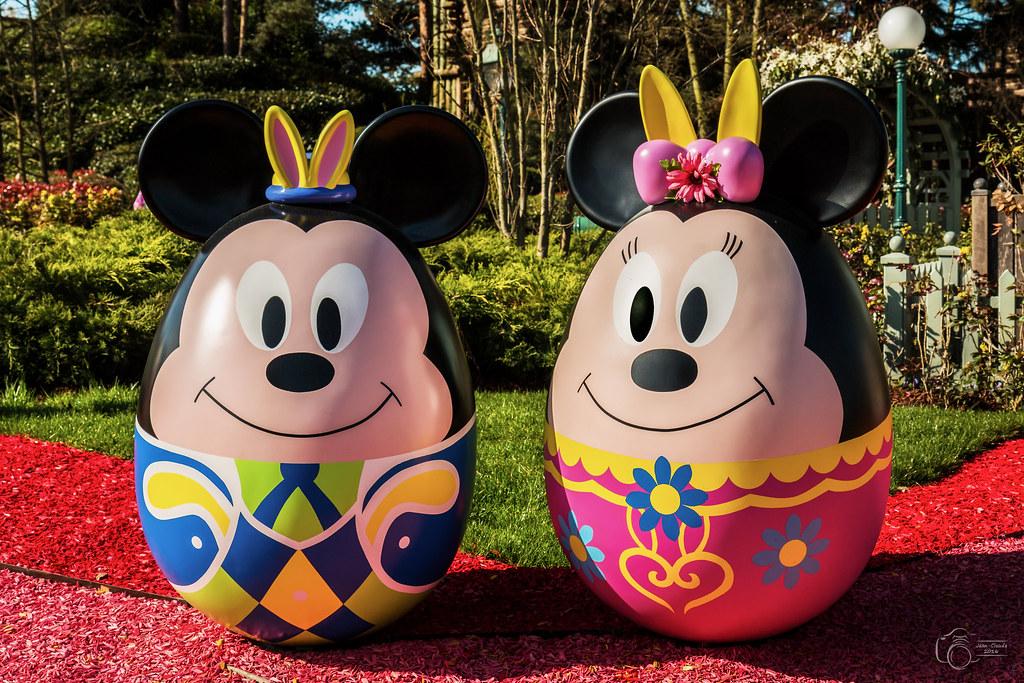 Oeufs De Pâques Disney (Cachouman) Tags: Disneyland Parade Printemps  Attractions Disneylandparis Parcdattraction Parcdisneyland