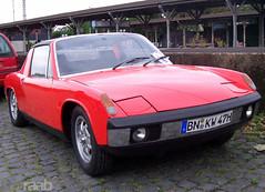 VW-Porsche 914 (TIMRAAB227) Tags: auto car vw bonn convertible coche porsche cabrio targa cabriolet karmann vwporsche wilhelmkarmanngmbh