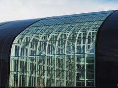 IBGE (En route pour l'Italie ...) Tags: blue roof brussels black architecture gris noir photographer tour belgium belgique gray bruxelles taxis bleu exposition belgian toit roofing toiture ibge photographe belge tourettaxis lieudexposition roundandtaxis