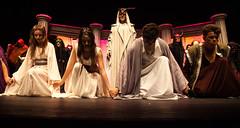 Pitia, Atenea, Orestes, Corifeo e coro (DivesGallaecia) Tags: teatro tragedy esquilo tragedia aeschylus eumenides eumnides traxedia seecgalicia erinias corifeo