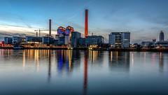 hkw west (Ralf Pelkmann) Tags: city blue deutschland harbor pier western chp habour