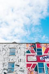 Typical Camden (lorenzoviolone) Tags: england sky streetart building london clouds mural unitedkingdom finepix fujifilm camdentown muralart fujiastia100f fav10 mirrorless vsco vscofilm fujix100s x100s fujifilmx100s travel:uk=londonapr16