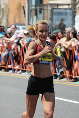 Runner (historygradguy (jobhunting)) Tags: people woman sports sport boston ma person marathon candid massachusetts newengland running run runners athletes mass athlete runner brookline coolidgecorner bostonmarathon marathoner marathoners laurieknowles 2016bostonmarathon