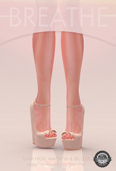 [BREATHE]-Felicity Wedges@Shiny Shabby (Daisa Admiral) Tags: original shoes mesh secondlife heels breathe