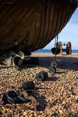 Old Clinker (ShrubMonkey (Julian Heritage)) Tags: old beach museum coast boat fishing brighton shingle a7 clinker fishingquarter