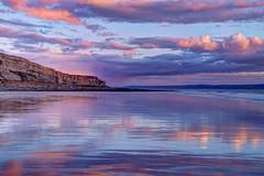The Purple lagoon (pauldunn52) Tags: heritage beach wales reflections coast purple glamorgan wick