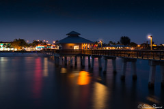 Fort Myers Pier Florida (Charles Ragucci Photography) Tags: ocean sunset beach night photography pier long exposure nightscape florida fortmyersbeach