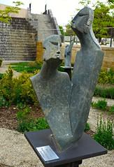 Sculpture by Tonderai Mashaya from Zimbabwe, Salt Lake City Public Library garden (ali eminov) Tags: gardens utah saltlakecity sculpturegarden sculptures sculptors saltlakecitypubliclibrary tonderaimashaya zimbabwesculptors