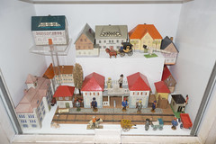 Antique toy village (quinet) Tags: germany munich toy deutschland antique allemagne spielzeug toymuseum jouet ancien antik spielzeugmuseum musedujouet 2013