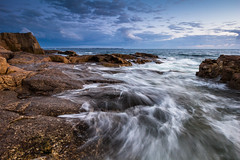 Le Couregant - Morbihan (Arno Dumont) Tags: seascape pose long exposure fort bretagne le morbihan bzh longue guidel bloqu kerroch lomener couregant