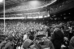 The Game (federicophotography) Tags: blackandwhite bw white black film monochrome 35mm photography baseball pentax k1000 kodak tmax stadium angels anaheim spectators expired tmax400 federico shootfilm filmisnotdead 400tmy federicophotography