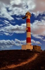 Faro de Poris (OVY (Fotografia Nocturna)) Tags: longexposure nightphotography espaa night stars faro noche spain nikon nubes estrellas tenerife nocturna fotografia islascanarias largaexposicion poris fotografianocturna nikonistas arico noctambulos mariorubio fotografonocturno oviblanco
