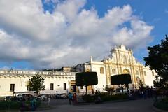 _DSC0689 (lnewman333) Tags: sky horse church latinamerica clouds highlands cathedral guatemala religion historic unesco worldheritagesite antigua plazamayor centralamerica parquecentral 1541 saintjosephcathedral spanishcolonialcity