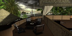 Solitude (Carla Putnam) Tags: lighthouse home nature fruit architecture landscape island layout islands coast interiors interior sl coastal secondlife tropical eden wl windlight