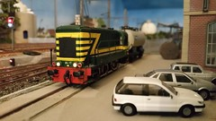 Riddersbrugge rijdagen: reeks 84 (Ignace Vanbiervliet) Tags: ho treinen nmbs modelspoor