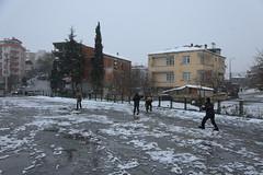 Çayırova'dan Kar Manzaraları 5