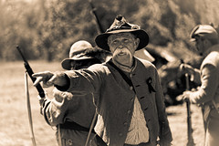 Your Sonorous Voice (remofoto) Tags: california man soldier us unitedstates civilwar soldiers mustache huntingtonbeach reenactment 制服 ひげ ヒゲ 男性 軍人 髭 再現 南北戦争