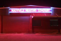Mayfield Printing (plasticfootball) Tags: neon kentucky nighttime printing mayfield