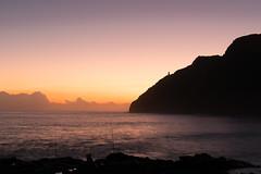 Makapu'u lighthouse sunrise (dweller by the crag) Tags: ocean sky lighthouse seascape water clouds sunrise hawaii seaside oahu shore makapuu