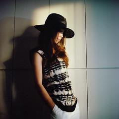 () Tags: light portrait 120 6x6 tlr rolleiflex zeiss square kodak bokeh michelle taiwan carl taipei portra400  28e kimshome