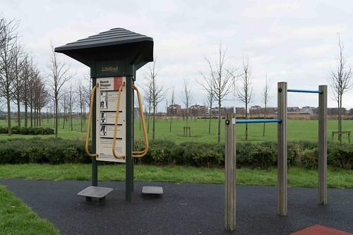 Wind Powered Public Park In Clongriffin Dublin [Father Collins Park]-110998