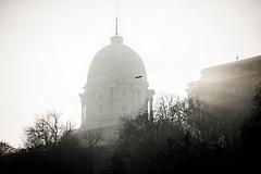 halo (crybaby75) Tags: winter blackandwhite mist monochrome misty fog canon photography blackwhite hungary budapest january foggy photowalk 1785 buda kd budacastle 2016 tl efs1785 janur kds 1000d canoneos1000d